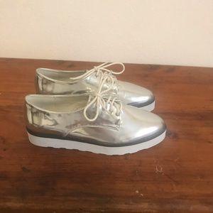 Topshop Metallic Shoes